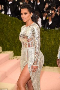 Revealed: Kim Kardashian 'got I.V. treatment before Met Gala to make her skin glow'