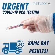 COVID-19 rt-PCR Virus Testing (same day results)